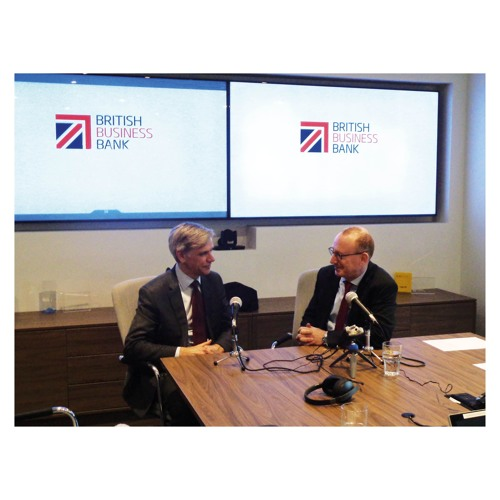 In Conversation With....Keith Morgan, CEO, British Business Bank