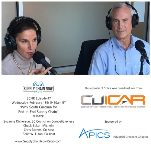 Why South Carolina for End-to-End Supply Chain? SCNR Episode 47