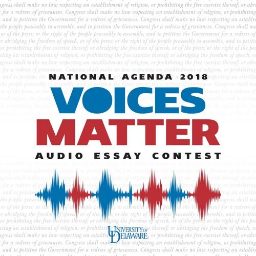 Voices Matter 2018―Audio Essay Contest Finalists
