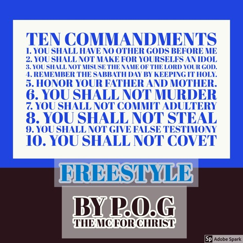 10 Crack Commandments Remix by P O G THE MC FOR CHRIST playlists on
