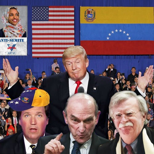 Ilhan Omar VS The Blob, Pro-Coup Tucker, US War in Venezuela
