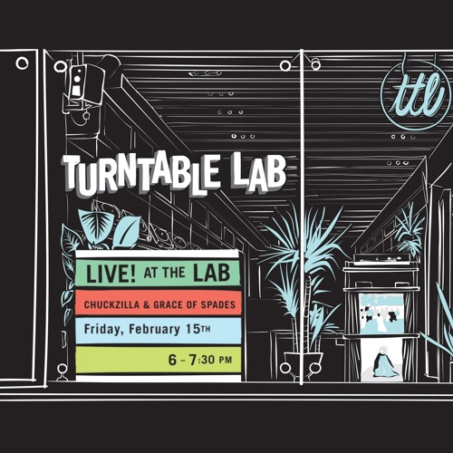 LIVE! AT THE LAB w/ Grace Of Spades & Chuck Zilla