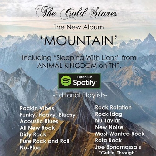 Sleeping With Lions by The Cold Stares Radio Download