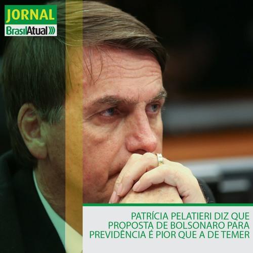 Patrícia Pelatieri diz que proposta de Bolsonaro para Previdência é pior que a de Temer