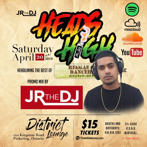 HEADS HIGH - APR 20 2019 @ DISTRICT LOUNGE (PROMO CD)[Explicit]