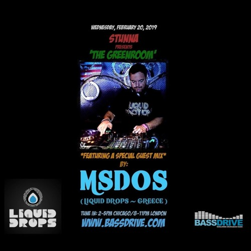 STUNNA — The Greenroom Guest Mix by mSdoS (20.02.2019)