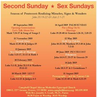 011319. Sex Sundays. Sex Outside Of Marriage (Water, Grain & Fire)