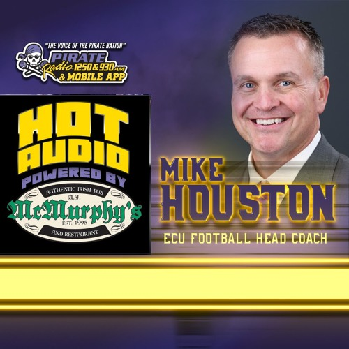 HOT AUDIO: ECU Football Head Coach Mike Houston joined The Voice Jeff Charles on From The Booth