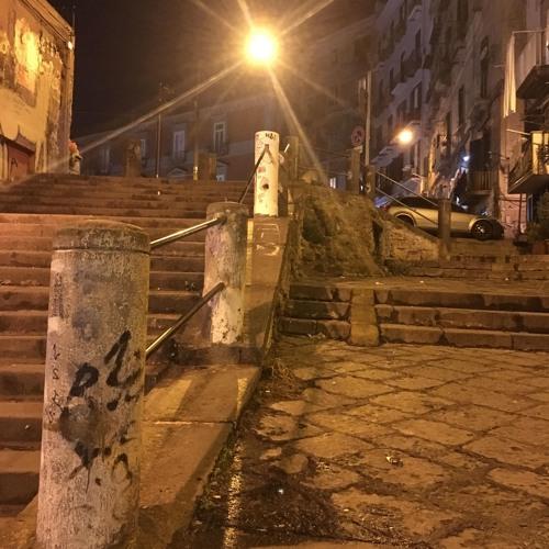 [Useless Sounds] - walking up Salita Tarsia, Saturday night, 19 January 2019