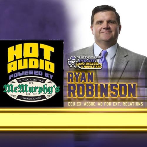 HOT AUDIO: ECU's Ryan Robinson joined Troy D on Pirate Radio Live to talk 2019 ECU Football. 022119