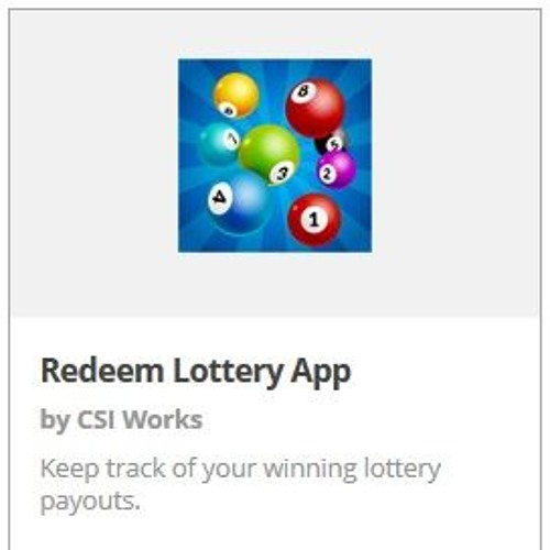 S1 E2 Payouts with Redeem Lottery App