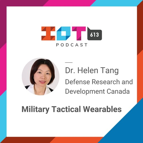 #6 - Wireless Cybersecurity and Military Wearables - Helen Tang
