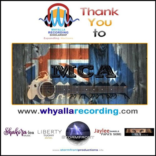 Whyalla Recording Scholarship WINNERS Played On My Country Australia 24/02/2019