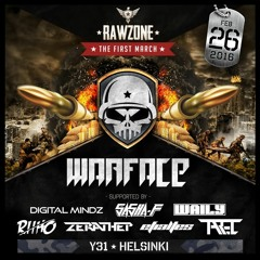 Event AV production - Rawzone DJ intro of Digital Mindz & Riiho