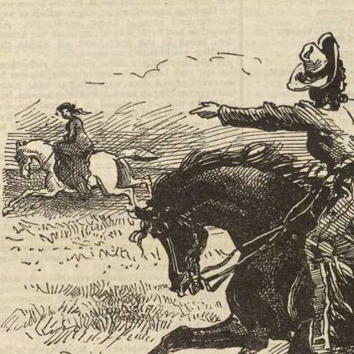 Texas Jack, The Prairie Rattler by Buffalo Bill - Seven