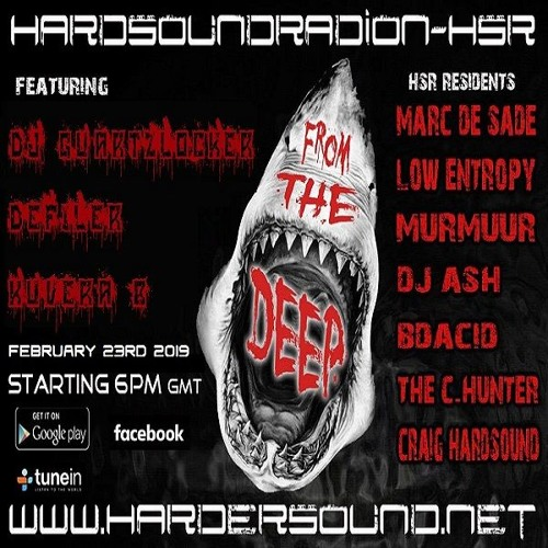 Kuvera B - From The Deep Part 2 On HardSoundRadio-HSR