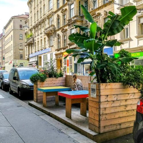 Rrriot Festival und Parklets in #Vienna