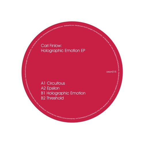 Carl Finlow- Holographic Emotion [PREVIEWS]