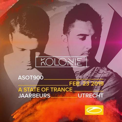 Kolonie - Live @ A State Of Trance 900, Utrecht, 23 - FEB - 2019