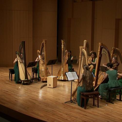 Bixi (2017) for Harp Ensemble