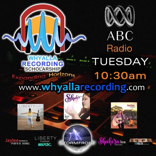 Whyalla Recording Scholarship on ABC Local Radio South Aust. and Broken Hill 26/02/19