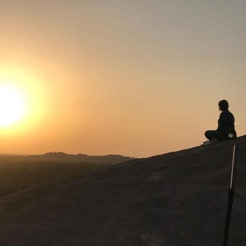 Mountain Meditation By Aarathi Selvan