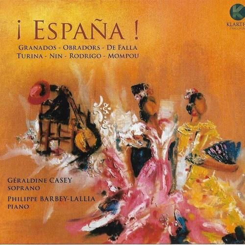 """Géraldine CASEY - ¡ España ! - F.OBRADORS """"El Vito"""" (Canciones clásicas españolas)"""