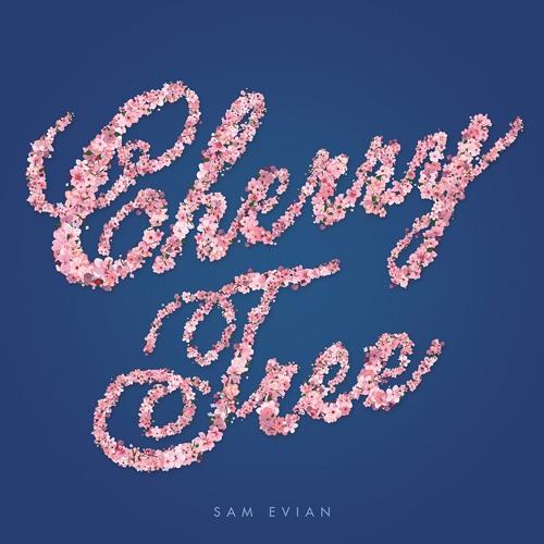 Sam Evian - Cherry Tree b/w Roses