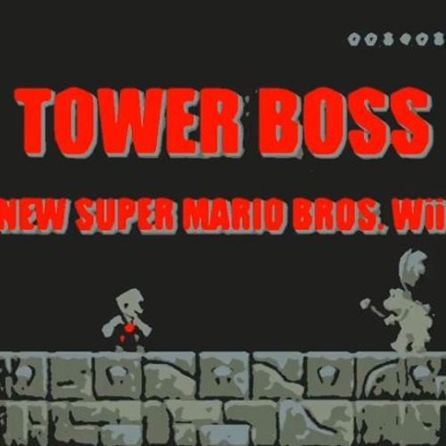 New Super Mario Bros Wii Tower Boss Music by Garin | Free