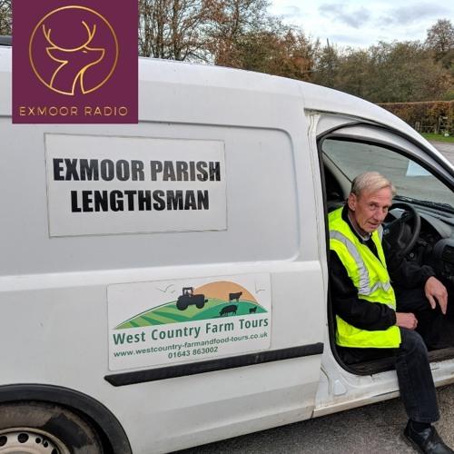 Exmoor Lengthsman Shaun Bryant