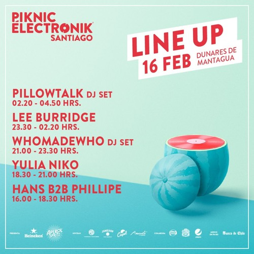 PillowTalk (Michael Tello DJ Set) - Live At Piknic Electronic, Chile for Parties4Peace