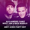 Alejandro Sanz, Nicky Jam & Erick Morillo - Back In The City (Andy Acedo Party Edit)