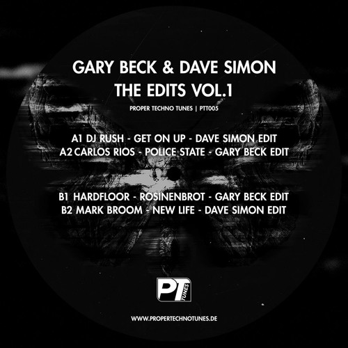 PTT005 Gary Beck & Dave Simon - The Edits Vol.1 - Snippets