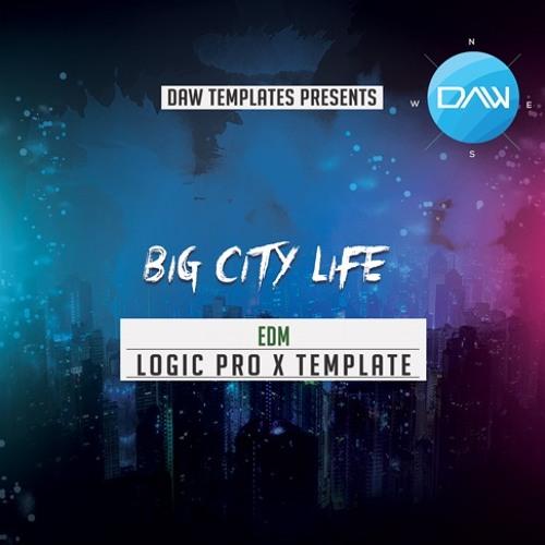 Big City Life Logic Pro X Template