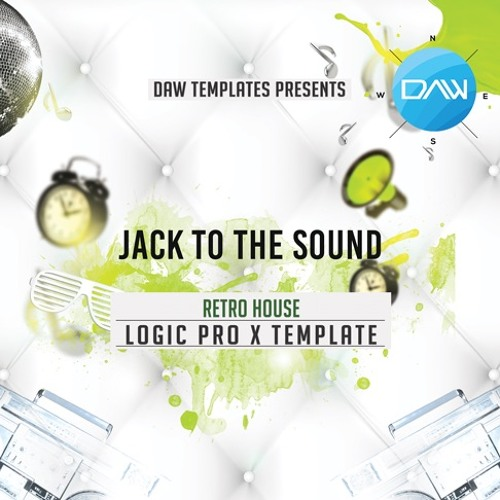 Jack to the sound Logic Pro X template