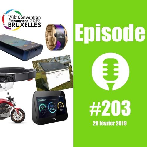 #203: Mobile World Congress 2019, Hydrogène, TikTok, Hololens 2,... en duo !