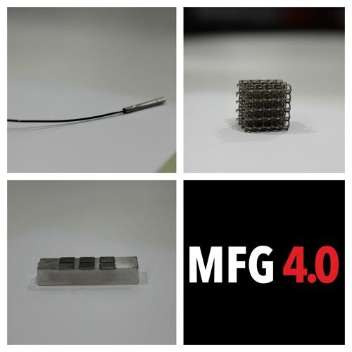 Millaisia materiaaleja MFG4.0-projektissa tutkitaan?