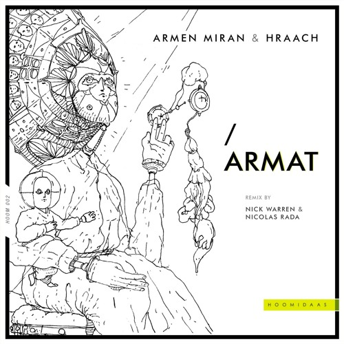 Premiere: Armen Miran & Hraach - Menq (Nick Warren & Nicolas Rada Remix) [Hoomidaas]