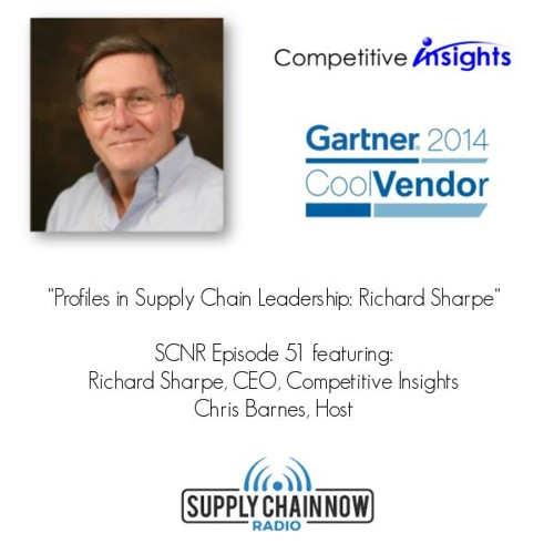 """Profiles in Supply Chain Leadership: Richard Sharpe"" - SCNR Episode 51"