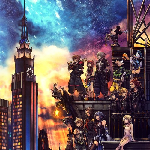Kingdom Hearts 3 Soundtrack - Monstropolis (Office) by