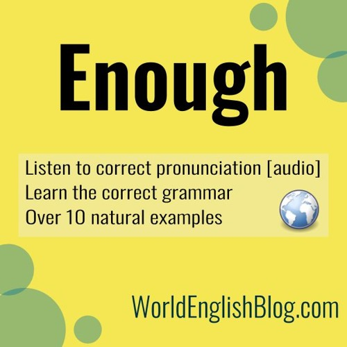 Enough Blog Podcast