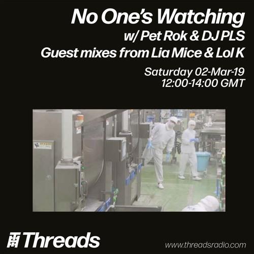 2/3/2019 No One's Watching w/ Lol K + Lia Mice