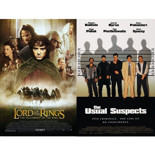Episode 100–Battle of 2001/1995: Lord of the Rings: The Fellowship of the Ring v. The Usual Suspects