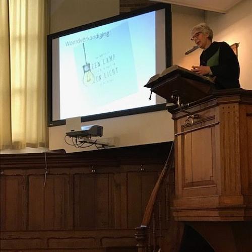 Dienst 3 Maart 2019 in Nieuwland. Ds. Elly Bouman