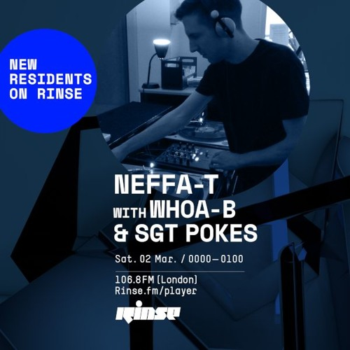 Rinse FM guest mix for Neffa-T