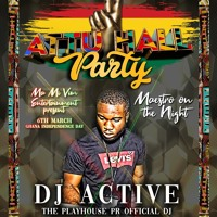 THE LEGENDS VOL 3 - ATTU HALL PARTY - CASTRO UNDER FIRE MIX BY DJ ACTIVE