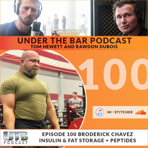 'The Evil Genius' Broderick Chavez -  Ep. 100 Insulin & Fat Storage + Peptides