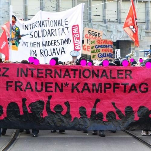 Rote Welle Zum Frauenkampftag 03.03.19