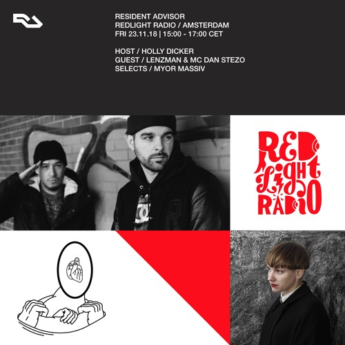 Resident Advisor on Red Light Radio - 23.11.18