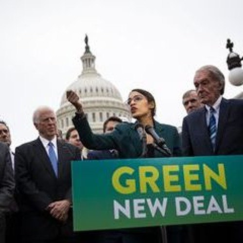 Dean Scott on the Green New Deal with Bloomberg Radio
